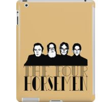 The Four Horsemen (of New Atheism), first edition. iPad Case/Skin