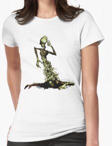Totem (deaddeaddead) Womens Fitted T-Shirt