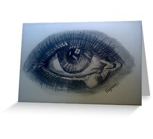 Precious Eyes Greeting Card