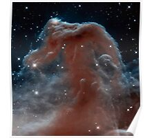 The Horsehead Nebula, constellation Orion, space, astronomy Poster