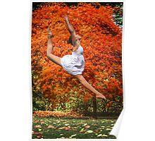 Autumn Backdrop Poster