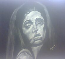 Distressed Girl by nayana chakraborty