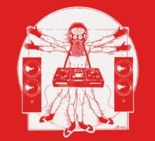 VITRUVIAN ALIEN DJ T-SHIRT Baby Tee