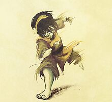 Toph Beifong by unfinishedtears