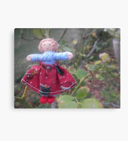 Traveling Doll Canvas Print
