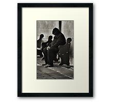 Down and Out in Dubbo NSW Australia Framed Print