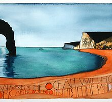Durdle Door by samcannonart