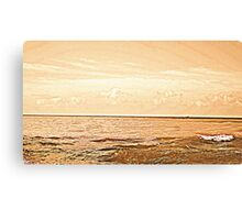 vintage sea Canvas Print