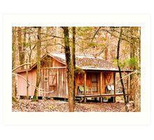 Tennessee Cabin Art Print