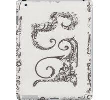 Ink blades iPad Case/Skin