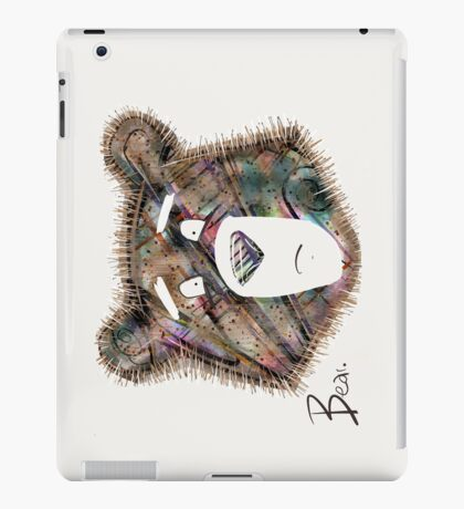 Too Much To Bear. iPad Case/Skin