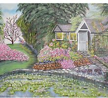 English Cottage by Hal Newhouser