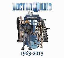 Dr Who 50th Anniversary (White) by Marjuned