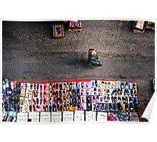 Morning street market Poster