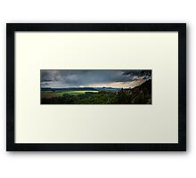 Elbsandstein Mountains Framed Print