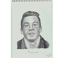 Macklemore Drawing Photographic Print