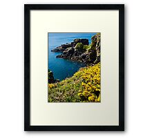 St Non's Bay West Wales Framed Print