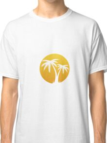 Summertime: Palm Tree Classic T-Shirt