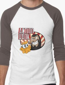 Action Hank says Men's Baseball ¾ T-Shirt