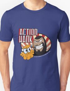 Action Hank says T-Shirt