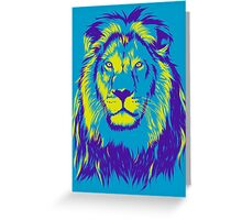King Lion Greeting Card