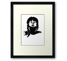 Da Girl Framed Print