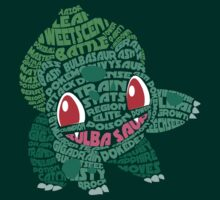 Bulbasaur by LucieDesigns