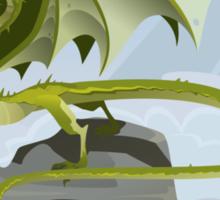 Dragon of Clouds Sticker