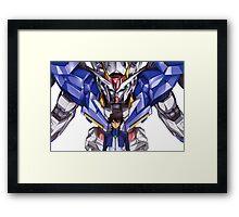 Gundam 00 Framed Print