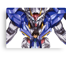 Gundam 00 Canvas Print
