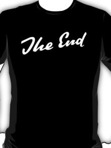 Sherlock Elementary - The End T-Shirt