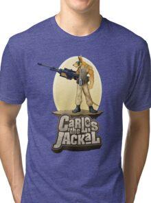 Carlos the Jackal Tri-blend T-Shirt