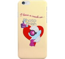 I have a crush on... Photo Finish - with text iPhone Case/Skin