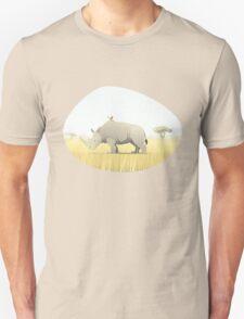 The Rhino and the Bird T-Shirt