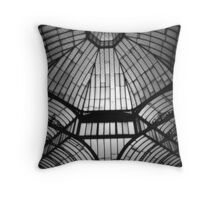 Barton Arcade - Roof detail Throw Pillow