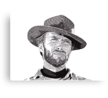 Clint Canvas Print