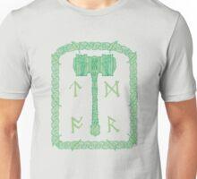 Runic Hammer of Nature Unisex T-Shirt