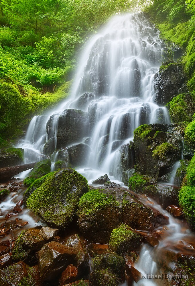 Fairy Falls by Michael Breitung
