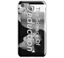 The Science Of Deduction iPhone Case/Skin