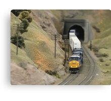 Model Railroading 3 Canvas Print