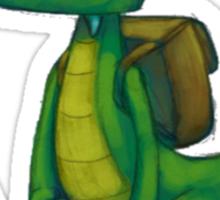 Croc PS1 Tshirt! Sticker