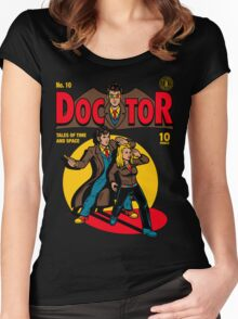 Doctor Comic Women's Fitted Scoop T-Shirt