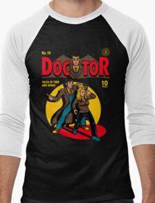 Doctor Comic Men's Baseball ¾ T-Shirt