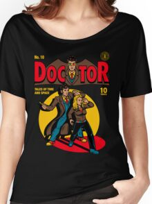 Doctor Comic Women's Relaxed Fit T-Shirt