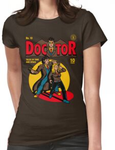 Doctor Comic Womens Fitted T-Shirt