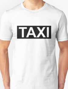 Taxi-Cabbie T-Shirt
