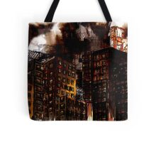 Abstract Cityscape Tote Bag