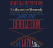 Les Misérables: Do You Hear The People Sing by hellyhere