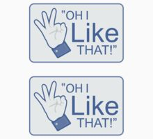 "Oh I ""Like"" That! - 2 Sticker Pack by BabyJesus"