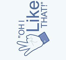 "Oh I ""Like"" That! - iPad Case by BabyJesus"